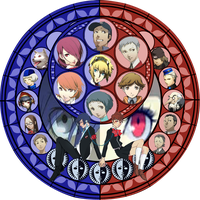 Kingdom hearts X Persona 3 by Sieghartelsy