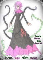 Black Rose Kishin Crona by khryztal-dark