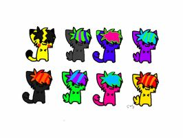Kitten Adoptables #4, Prices Vary by Foreststone