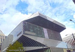 Seattle Public Library Exterior by SmittyJade1
