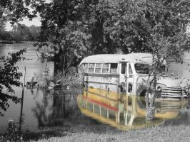 flooded bus by candy691977