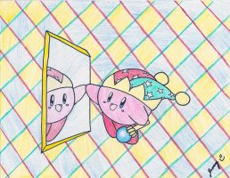 Mirror Kirby by Jenime39