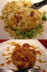 Chicken Alfredo and Dessert by rcmacdonald