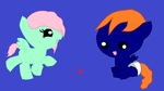 Baby Ponies :3 by chibicosplayer