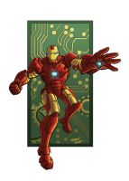 Iron Man in Color by LostonWallace