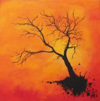 The Tree with no roots by sammy-davis