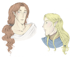 Maedhros and Angrod- Designs by avi17