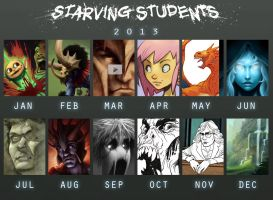 2013 Meme by StarvingStudents