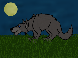 New Warg by shewolf321