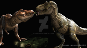 T Rex pair 2 by GalileoN