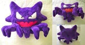 Haunter Plush by dolphinwing