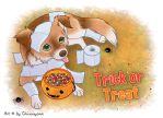 Chiwowy: 21. Trick or Treat by Chiwowy