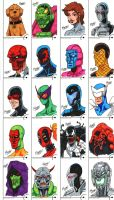 Fleer Retro Marvel - Part 4 by SeanRM