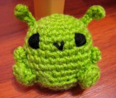 Crochet Green Bloop by neonjello17