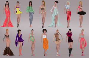 Fashion designs by Lideeh by Lideeh