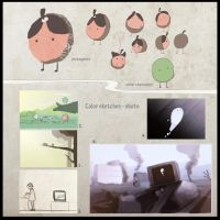 short animation design sheet by Morisan