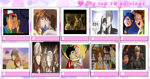 My top 10 couples for you!! by Austria-Gentleman