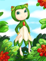 Cosmo the Seedrian by Retro-Trololo