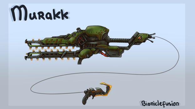 Murakk Chainsaw Weapon by bioniclefusion