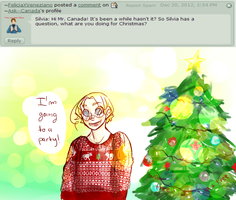 Q and A: 50 ( CHRISTMAS! ) by Ask--Canada