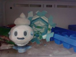 ice pokemon papercraft by javierini