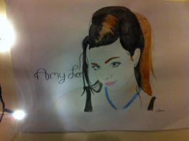 Amy Lee drawing/painting by xTEAMGRIMMIExx