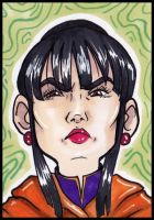 Mini Chi Chi sketch card by lubyelfears
