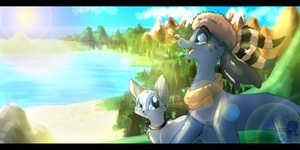 A World without Fences by JB-Pawstep