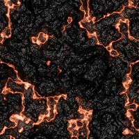 Magma- cooling lava by Drake-Stock