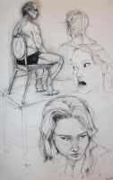 Drawing II: Classroom Studies:1 by Chipo-H0P3