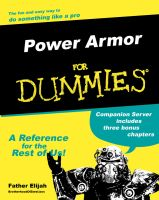 Power Armor for Dummies by Nastrodamus666