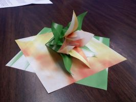 Two Sheet Flower by GoldWinds