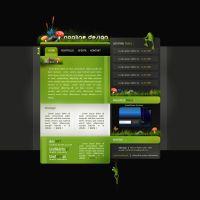My portfolio by nonlin3 by webgraphix