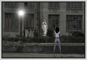 Apparition de la vierge by SUDOR