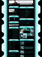 Simple Techish MySpace Default by mikethedj4