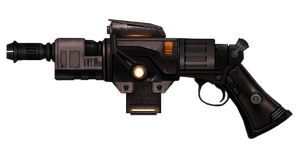 Custom Heavy Blaster Pistol 2 by Tenacity1