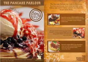 flyer pancake parlour by tienTOON