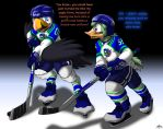 New Puffins Player - 6/6 by Pheagle-Adler