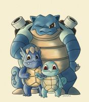 squirtles evolution by michelmich