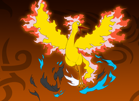 Leroy's Moltres Transformation Complete by Zohaku