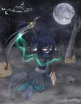 Happy Halloween 2oo9 by Chibi-Nuffie