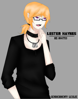{ Genderbent Leslie } by AniOnna