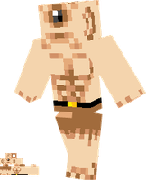 Minecraft Skin Cyclops by lunchbox1234