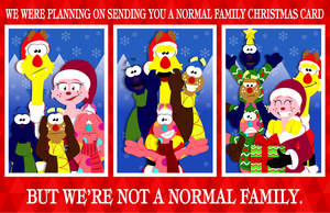 [Pizza Monster] Not a Normal Family Christmas by CK-was-HERE