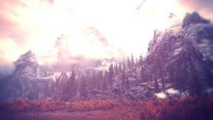 Beauty of Skyrim I by MuuseDesign