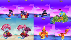 Meh Genie Monsters on Monster Legends  :3 by Moracalle