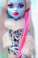 Monster High- Abbey Bominable I by ShiVoodoo