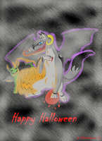 Happy Halloween! by HellsingDragoness