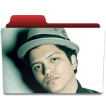 Bruno Mars Folder Ico and Png by vchawla