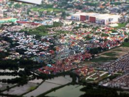 Tilt shift Manila by xandra14